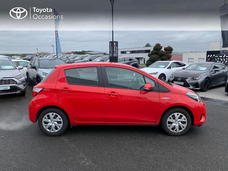 Photo 17 de l'offre de TOYOTA Yaris 100h France 5p à 12980€ chez Altis - Toyota Vannes