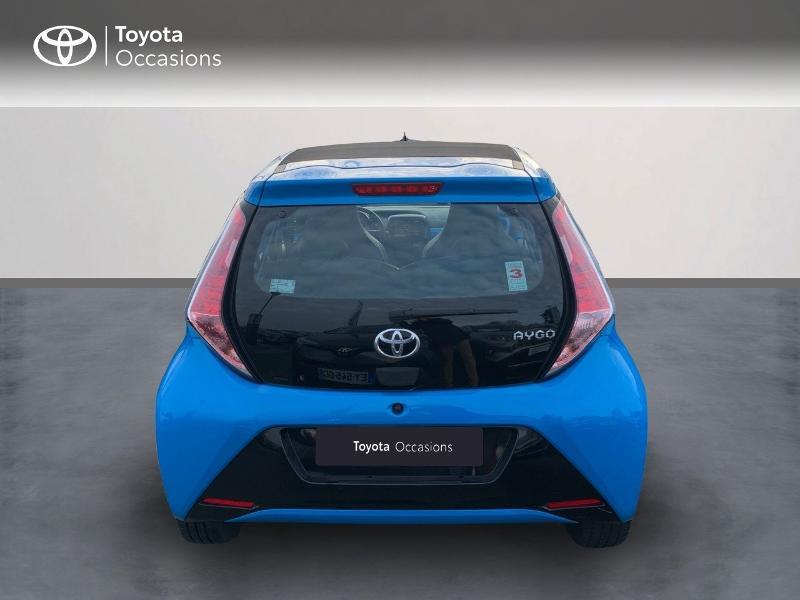 Photo 4 de l'offre de TOYOTA Aygo 1.0 VVT-i 69ch x-wave 2 5p à 8980€ chez Altis - Toyota Vannes