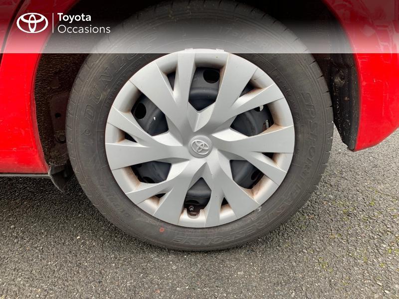 Photo 16 de l'offre de TOYOTA Yaris 100h France 5p à 12980€ chez Altis - Toyota Vannes