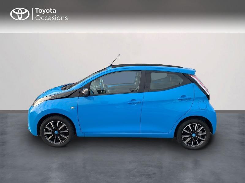 Photo 3 de l'offre de TOYOTA Aygo 1.0 VVT-i 69ch x-wave 2 5p à 8980€ chez Altis - Toyota Vannes
