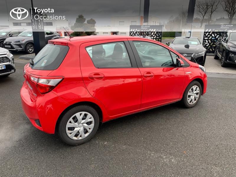 Photo 18 de l'offre de TOYOTA Yaris 100h France 5p à 12980€ chez Altis - Toyota Vannes