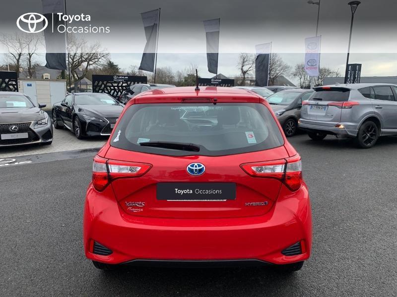 Photo 28 de l'offre de TOYOTA Yaris 100h France 5p à 12980€ chez Altis - Toyota Vannes
