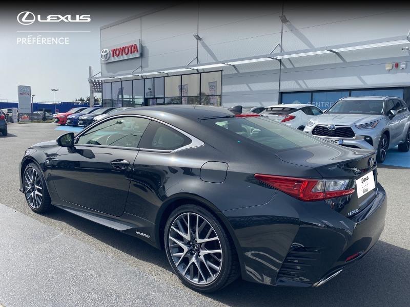 Photo 24 de l'offre de LEXUS RC 300h F SPORT Executive à 39980€ chez Altis - Toyota Vannes