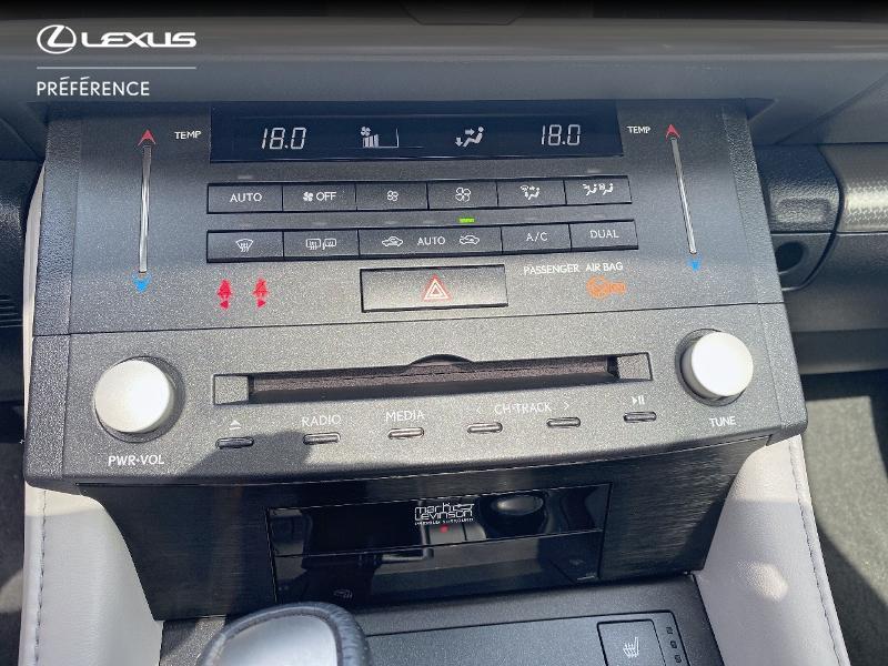 Photo 22 de l'offre de LEXUS RC 300h F SPORT Executive à 39980€ chez Altis - Toyota Vannes
