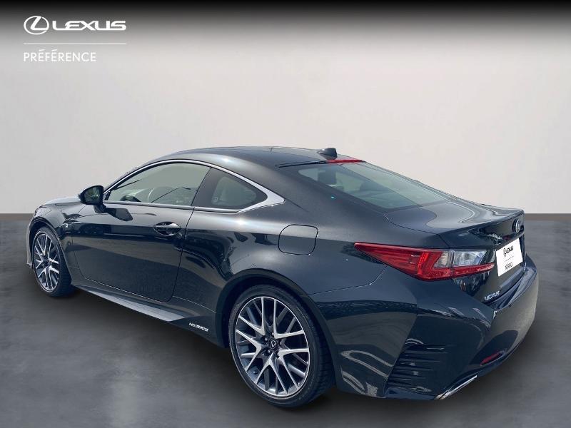 Photo 2 de l'offre de LEXUS RC 300h F SPORT Executive à 39980€ chez Altis - Toyota Vannes