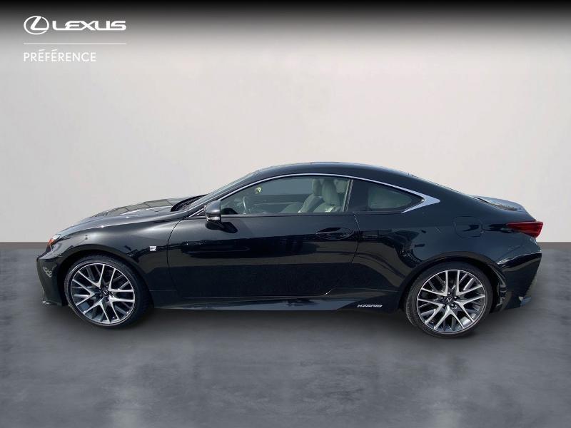 Photo 3 de l'offre de LEXUS RC 300h F SPORT Executive à 39980€ chez Altis - Toyota Vannes