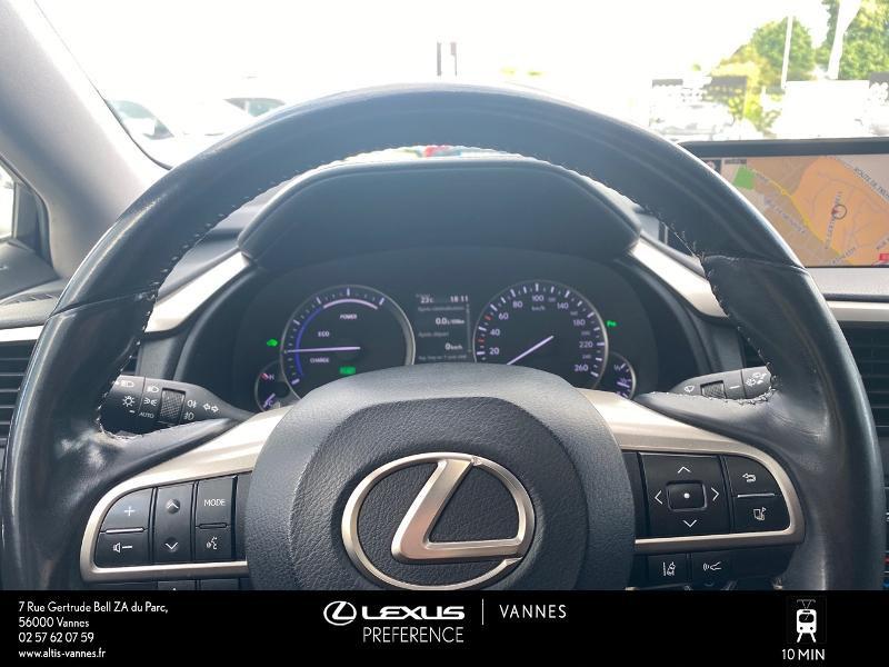 Photo 8 de l'offre de LEXUS RX 450h 4WD Executive à 39980€ chez Altis - Toyota Vannes