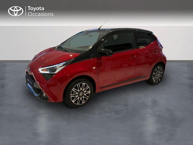 Toyota Aygo 1.0 VVT-i 72ch x-clusiv 5p MY20 Essence BITON ROUGE INTENSE Occasion à vendre