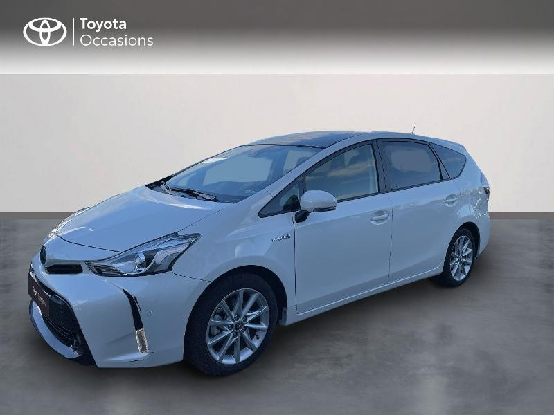 Toyota Prius+ 136h Lounge TSS Hybride Blanc Occasion à vendre