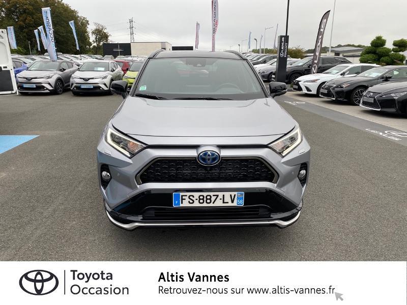 Photo 19 de l'offre de TOYOTA RAV4 Hybride Rechargeable 306ch Collection AWD à 57480€ chez Altis - Toyota Vannes