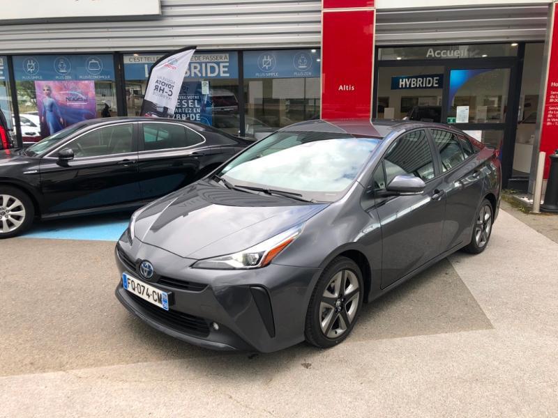 Toyota Prius 122h Dynamic Pack Premium MC19 Hybride Gris Atlas Occasion à vendre