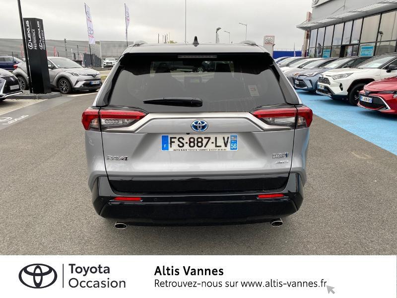Photo 18 de l'offre de TOYOTA RAV4 Hybride Rechargeable 306ch Collection AWD à 57480€ chez Altis - Toyota Vannes