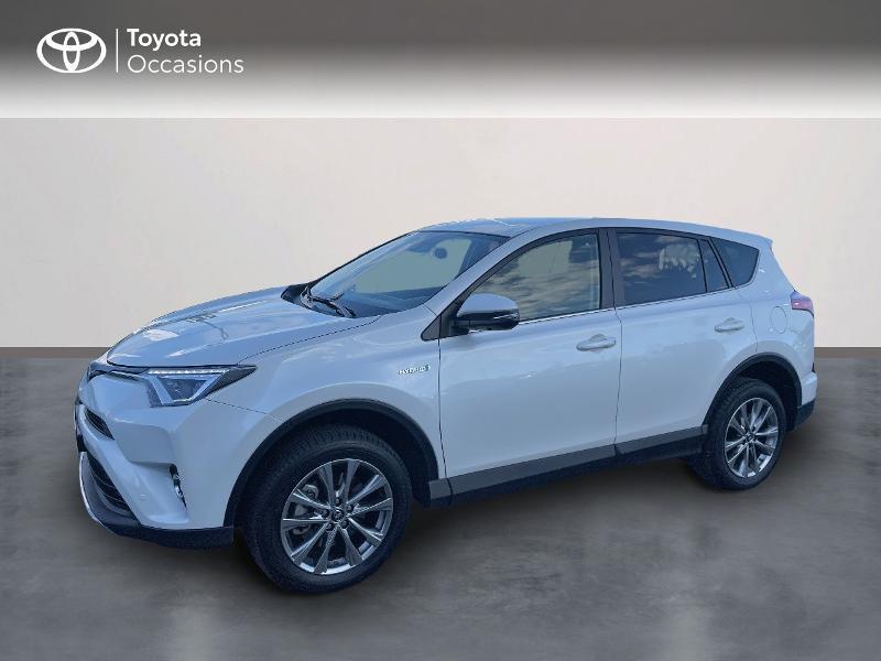Toyota RAV4 197 Hybride Lounge 2WD CVT Hybride BLANC NACRE Occasion à vendre