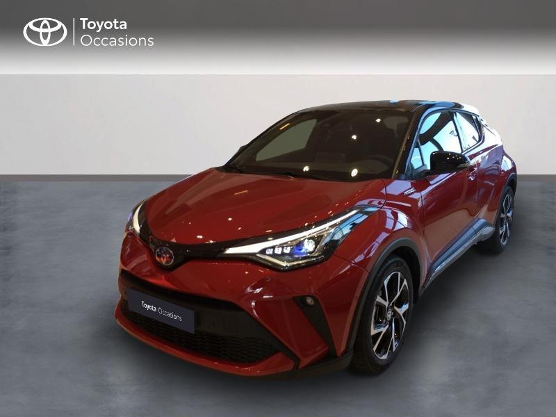 Toyota C-HR 184h Collection 2WD E-CVT MY20 Hybride ROUGE INTENSE Occasion à vendre