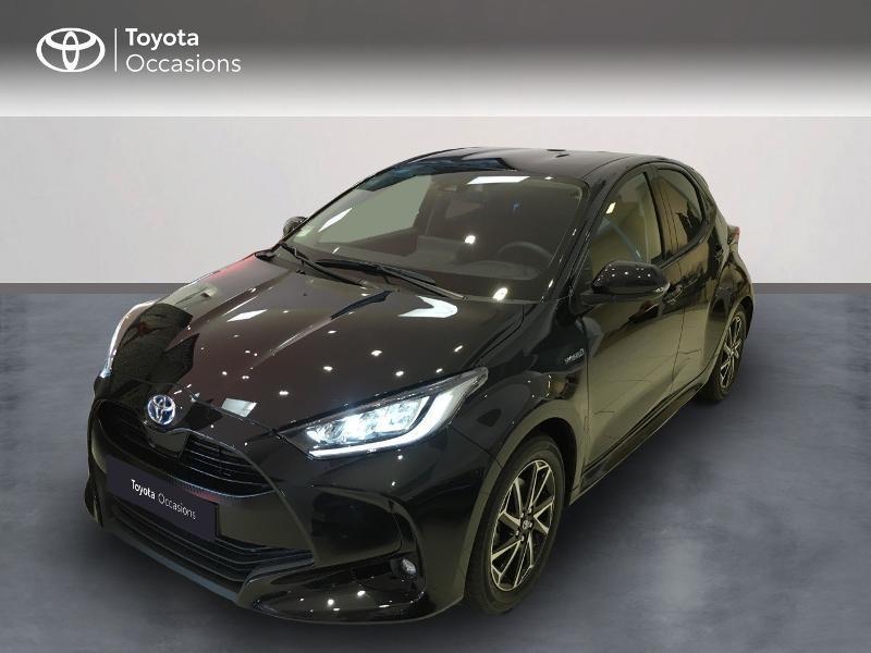 Toyota Yaris 116h Design 5p Hybride noir intense Occasion à vendre