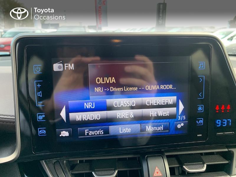 Photo 15 de l'offre de TOYOTA C-HR 122h Distinctive 2WD E-CVT à 20980€ chez Altis - Toyota Vannes