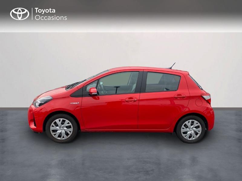 Photo 3 de l'offre de TOYOTA Yaris 100h France 5p à 12980€ chez Altis - Toyota Vannes
