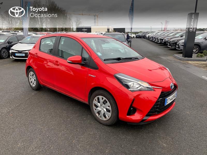 Photo 19 de l'offre de TOYOTA Yaris 100h France 5p à 12980€ chez Altis - Toyota Vannes