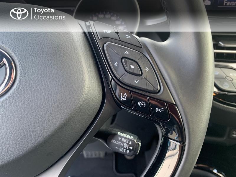 Photo 20 de l'offre de TOYOTA C-HR 122h Distinctive 2WD E-CVT à 20980€ chez Altis - Toyota Vannes
