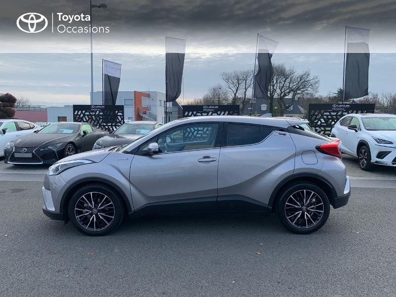 Photo 27 de l'offre de TOYOTA C-HR 122h Distinctive 2WD E-CVT à 20980€ chez Altis - Toyota Vannes