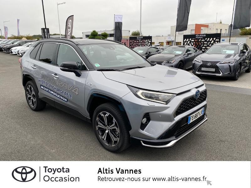 Photo 17 de l'offre de TOYOTA RAV4 Hybride Rechargeable 306ch Collection AWD à 57480€ chez Altis - Toyota Vannes