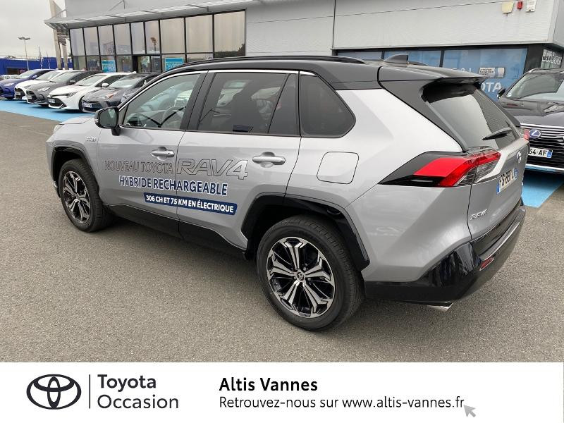 Photo 22 de l'offre de TOYOTA RAV4 Hybride Rechargeable 306ch Collection AWD à 57480€ chez Altis - Toyota Vannes