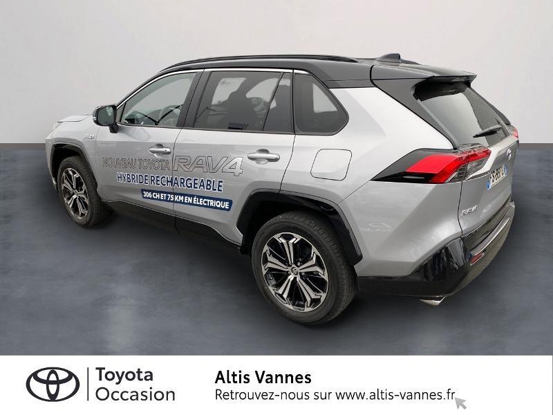Photo 2 de l'offre de TOYOTA RAV4 Hybride Rechargeable 306ch Collection AWD à 57480€ chez Altis - Toyota Vannes