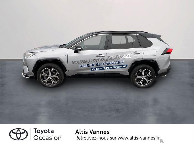 Photo 3 de l'offre de TOYOTA RAV4 Hybride Rechargeable 306ch Collection AWD à 57480€ chez Altis - Toyota Vannes