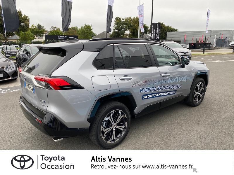 Photo 16 de l'offre de TOYOTA RAV4 Hybride Rechargeable 306ch Collection AWD à 57480€ chez Altis - Toyota Vannes