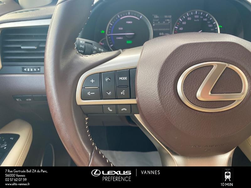 Photo 10 de l'offre de LEXUS RX 450h 4WD Luxe à 32980€ chez Altis - Toyota Vannes