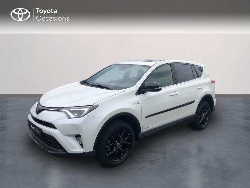 Toyota RAV4 197 Hybride Black Edition 2WD CVT Hybride blanc Occasion à vendre