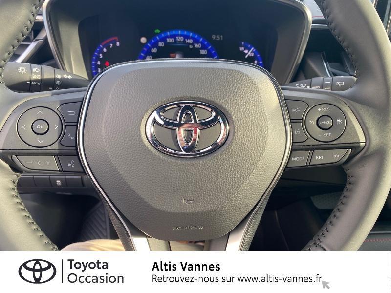 Photo 7 de l'offre de TOYOTA Corolla 184h Collection MY20 8cv à 28980€ chez Altis - Toyota Vannes