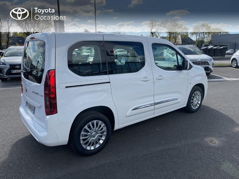 Photo 18 de l'offre de TOYOTA PROACE CITY Verso Medium 1.2 110 VVT-i Dynamic RC21 à 22900€ chez Altis - Toyota Vannes