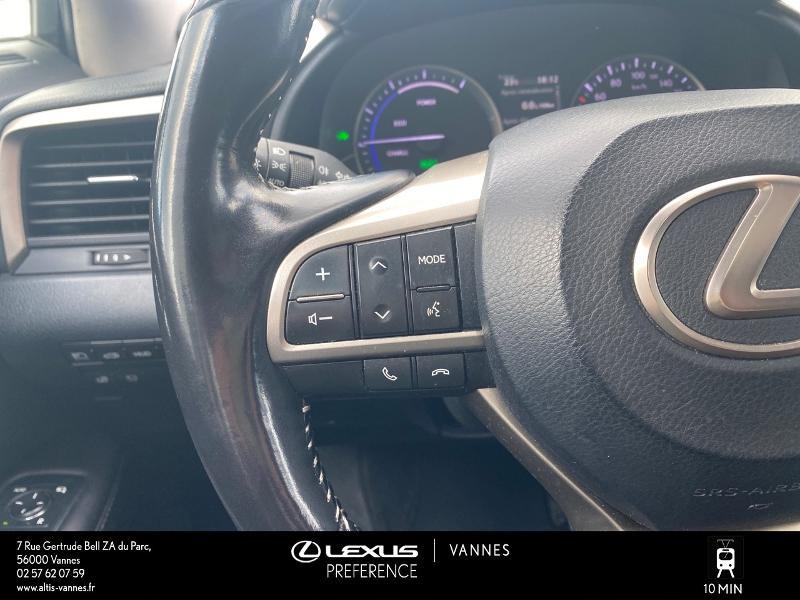 Photo 10 de l'offre de LEXUS RX 450h 4WD Executive à 39980€ chez Altis - Toyota Vannes