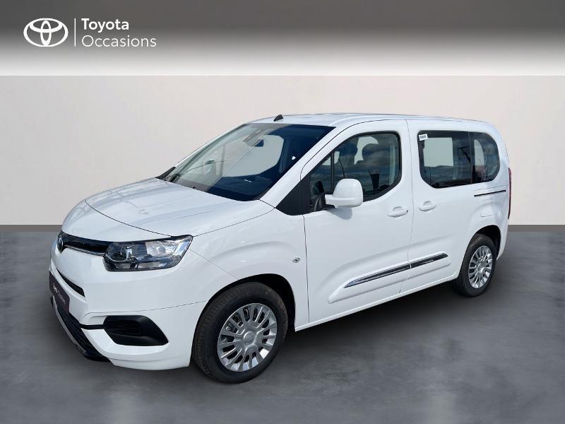Toyota PROACE CITY Verso Medium 1.2 110 VVT-i Dynamic RC21 Essence BLANC BANQUISE Occasion à vendre