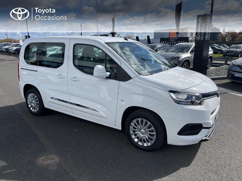 Photo 19 de l'offre de TOYOTA PROACE CITY Verso Medium 1.2 110 VVT-i Dynamic RC21 à 22900€ chez Altis - Toyota Vannes