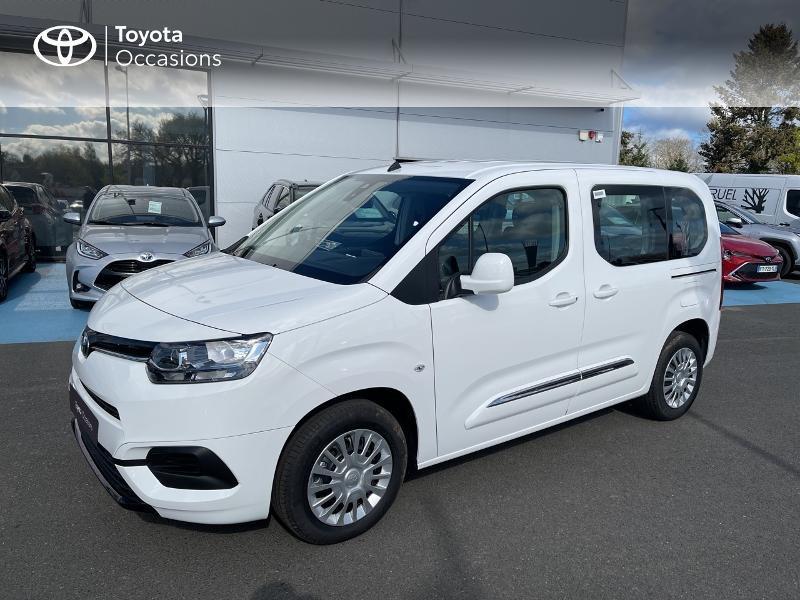 Photo 20 de l'offre de TOYOTA PROACE CITY Verso Medium 1.2 110 VVT-i Dynamic RC21 à 22900€ chez Altis - Toyota Vannes