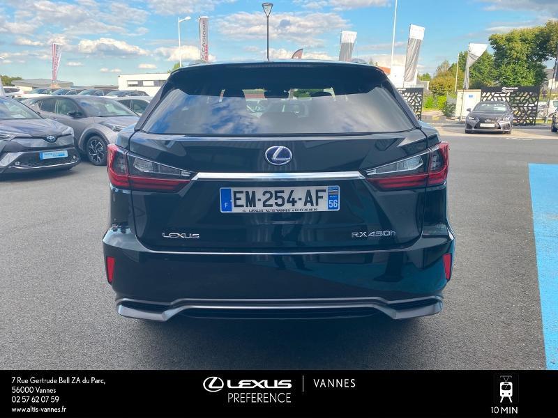 Photo 18 de l'offre de LEXUS RX 450h 4WD Executive à 39980€ chez Altis - Toyota Vannes