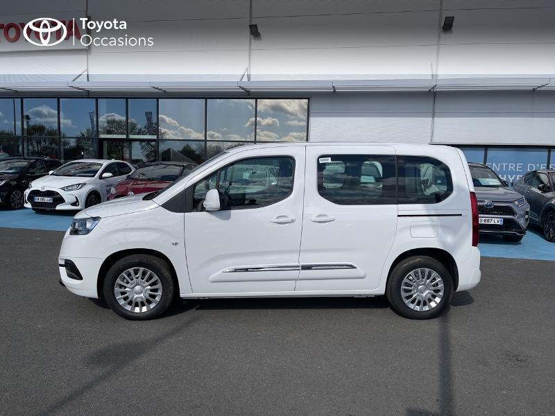 Photo 22 de l'offre de TOYOTA PROACE CITY Verso Medium 1.2 110 VVT-i Dynamic RC21 à 22900€ chez Altis - Toyota Vannes