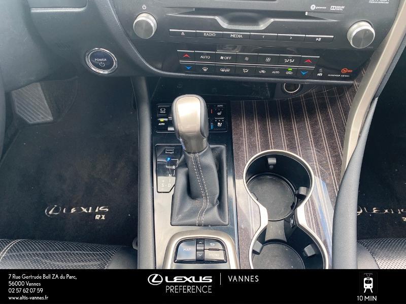 Photo 9 de l'offre de LEXUS RX 450h 4WD Executive à 39980€ chez Altis - Toyota Vannes