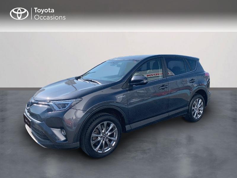 Toyota RAV4 197 Hybride Lounge 2WD CVT Hybride Gris Atlas Occasion à vendre