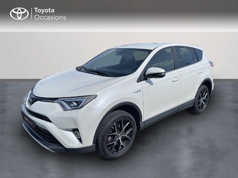 Toyota RAV4 197 Hybride Design 2WD CVT Hybride blanc Occasion à vendre