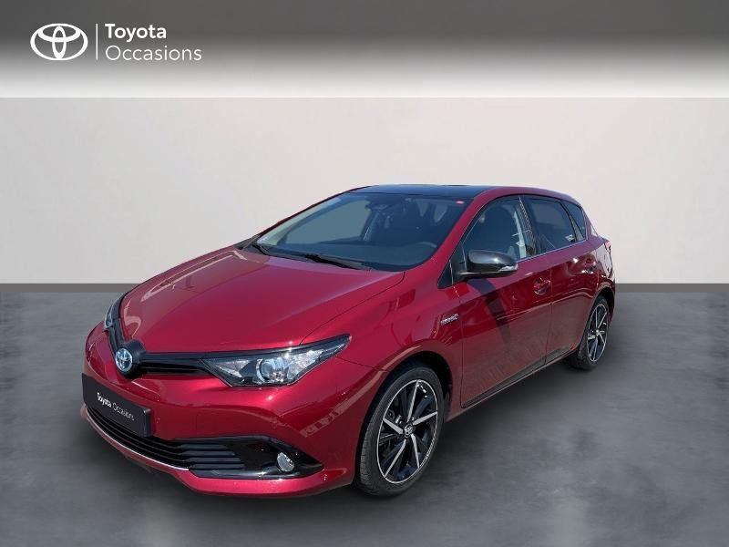 Toyota Auris HSD 136h Collection Hybride rouge Occasion à vendre