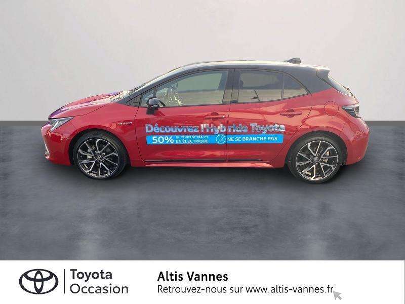 Photo 3 de l'offre de TOYOTA Corolla 184h Collection MY20 8cv à 28980€ chez Altis - Toyota Vannes