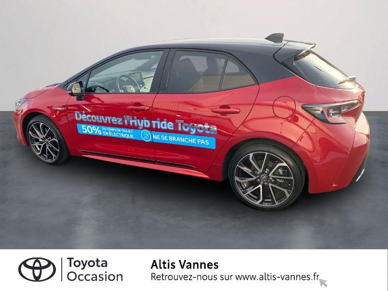 Photo 2 de l'offre de TOYOTA Corolla 184h Collection MY20 8cv à 28980€ chez Altis - Toyota Vannes