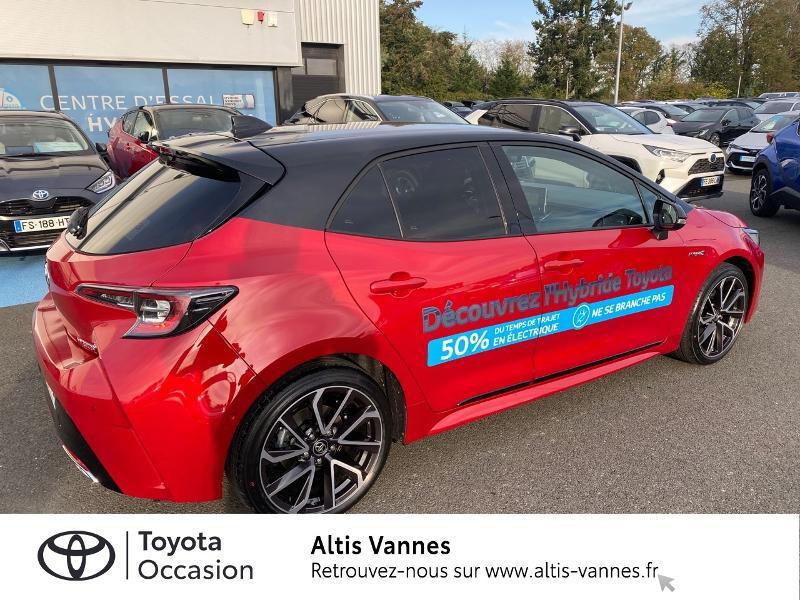 Photo 16 de l'offre de TOYOTA Corolla 184h Collection MY20 8cv à 28980€ chez Altis - Toyota Vannes