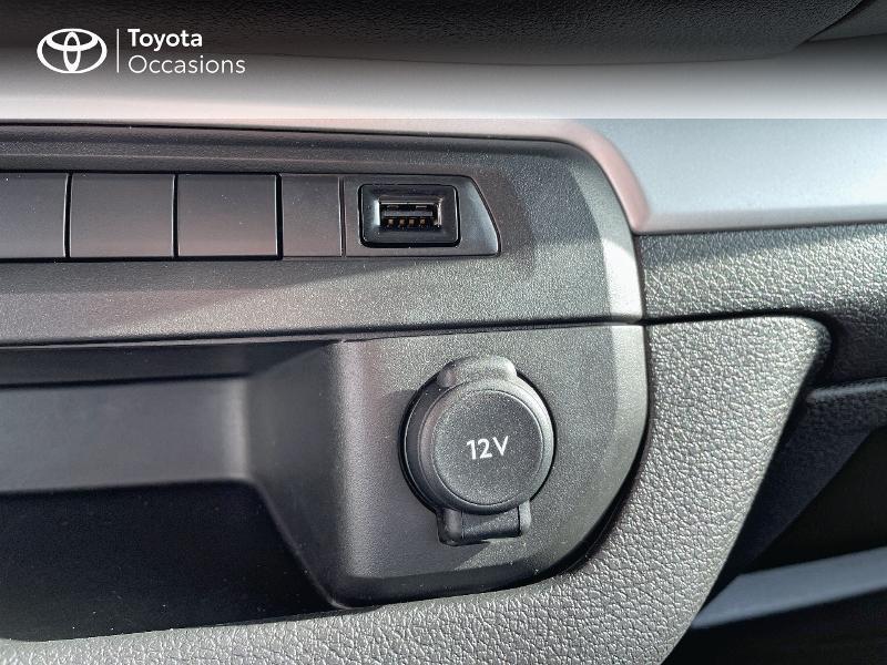 Photo 19 de l'offre de TOYOTA PROACE Verso Long 1.5 120 D-4D Dynamic MY20 à 31980€ chez Altis - Toyota Vannes