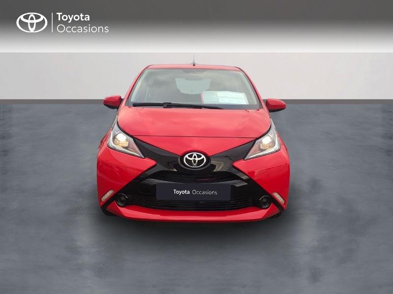Photo 5 de l'offre de TOYOTA Aygo 1.0 VVT-i 69ch x-red 5p à 8680€ chez Altis - Toyota Vannes