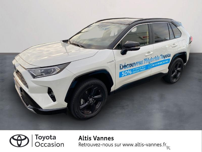 Toyota RAV4 Hybride 218ch Collection 2WD MY20 Hybride BLANC NACRE Occasion à vendre