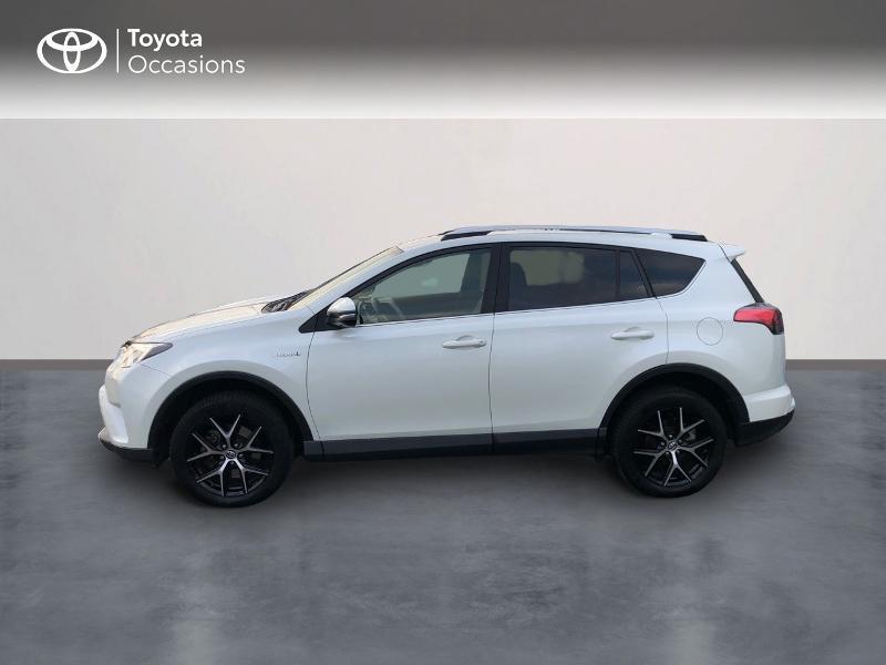 Photo 3 de l'offre de TOYOTA RAV4 197 Hybride Design 2WD CVT à 21980€ chez Altis - Toyota Vannes